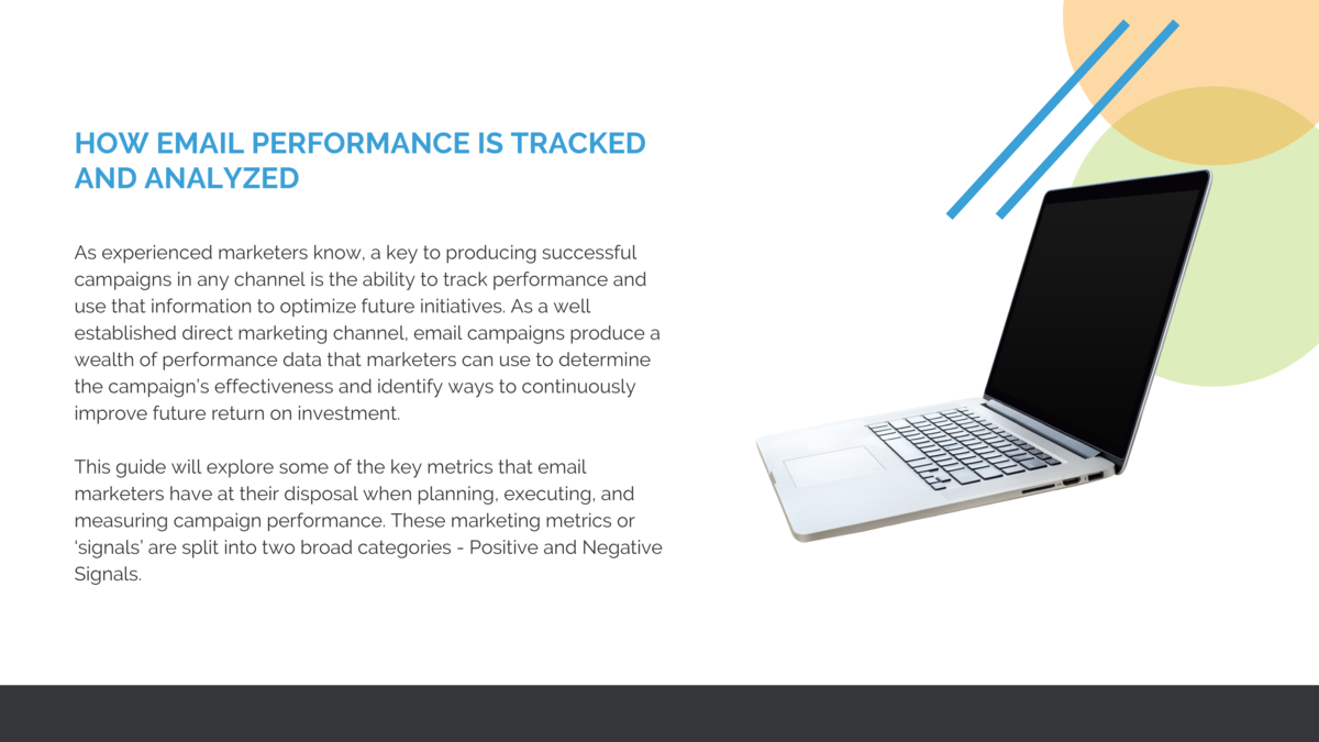 HOW EMAIL PERFORMANCE IS TRACKED AND ANALYZED As experienced marketers know, a key to producing successful campaigns in an...